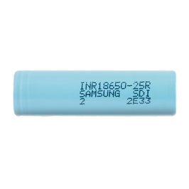 SAMSUNG INR18650-25R BATTERY 2500 MAH