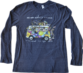 2018 Unisex LS Sedona Road Trip - Heather Navy