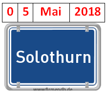 WORKSHOP, SOLOTHURN, 05. MAI 2018