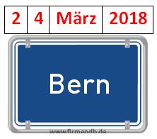 TAGES-PROGRAMM, BERN, 24. MÄRZ 2018