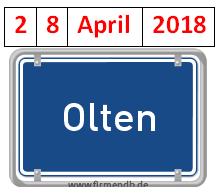 TAGES-PROGRAMM, OLTEN, 28. APRIL 2018