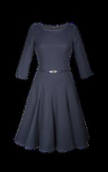 Kleid in Blau  von Mothwurf