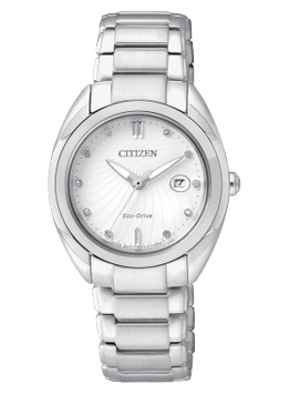 Citizen Collezione L Donna 30 mm diamanti   EM0310-61B