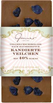 Kandierte Veilchen 40% Kakao