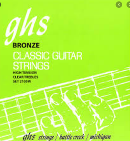 Corde GHS per classica Bronze High Tension