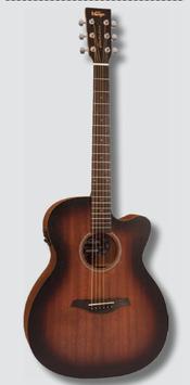 Chitarra acustica Vintage® VE660WK