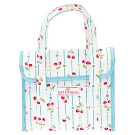 GreenGate Lunchbag, Cherry white