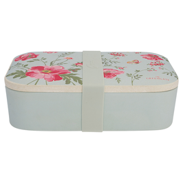 GreenGate Lunch Box, Meadow pale blue