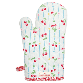 GreenGate Ofen- & Grillhandschuh, Cherry white