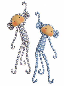 Tilda Material-Set, Classic Monkeys, 2er Set