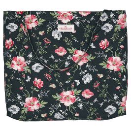 GreenGate Shopper Meadow, black