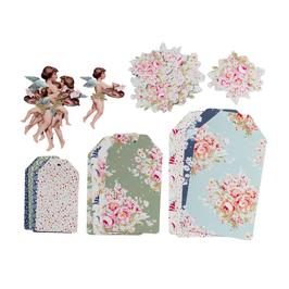 Tilda Papier-Deco-Set, Painting Flower, Limited Edition!