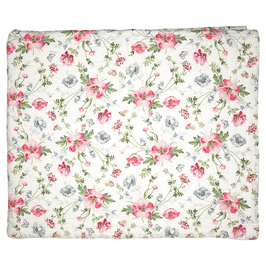 GreenGate Quiltdecke, Meadow white, 140x220