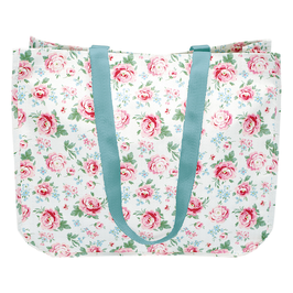 GreenGate Shopper rund, Meryl white
