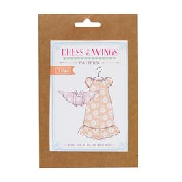 Tilda Schnittmuster, Kleidchen mit Flügel