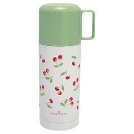 GreenGate Thermosflasche, Cherry white