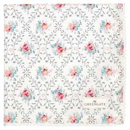 GreenGate Stofftuch, Daisy pale grey