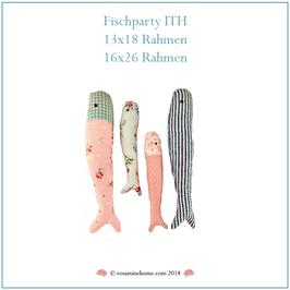 Rosamine Stickdatei, Fischparty ITH