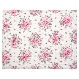 GreenGate Tischset, Flora white gequiltet