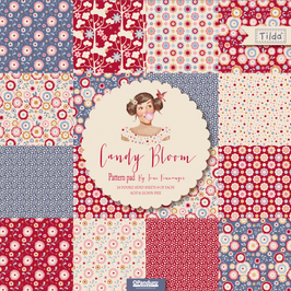 Tilda Papierblock, Candy Bloom, Limited Edition!