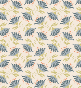 Tilda Fat Quarter Lilly blue