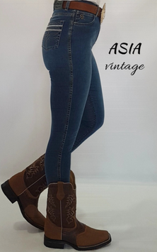 Jeans Western RAWHIDE donna mod. Asia aderente