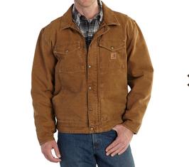 Carhartt® Berwick Sandstone Giacca da lavoro colore marrone