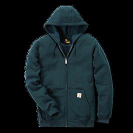 CARHARTT Felpa da uomo con cappuccio e zip K122 Midweight Hooded Zip-Front Sweatshirt