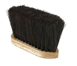 Horsehair Dust Brush con setole in crine Horze