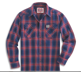 Camicia Carhartt Men's Series 1889 Snap Front Flannel Shirt
