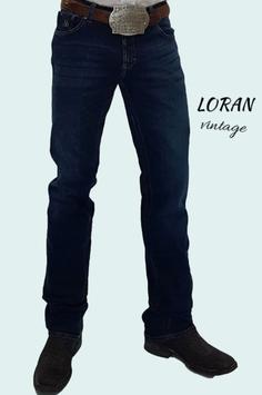 Jeans Western RAWHIDE Unisex Loran boot cut