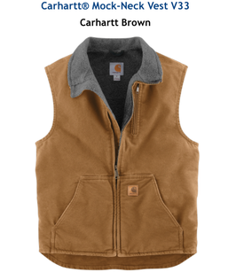 Carhartt® smanicato Mock-Neck Vest V33 UOMO E DONNA