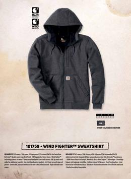 CARHARTT Felpa termica  Wind Fighter Sweatshirt