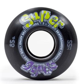ENUFF SUPER SOFTIE WHEELS Black (set de 4) 55mm