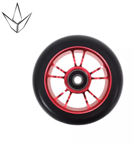 BLUNT Wheel 10 spoked  100mm red