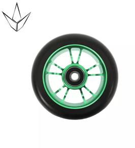 BLUNT Wheel 10 spoked  100mm green