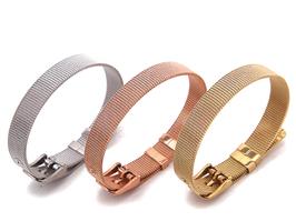 """Slide Bracelet """"Rosé & Gold"""" 10mm"""