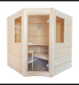 Sauna Basic Massiv Corner