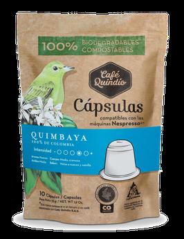 Café Quindío Export Line Quimbaya Nespresso® Coffee Capsules, 10 Pack