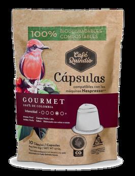 Café Quindío Export Line Gourmet Nespresso® Coffee Capsules, 10 Pack