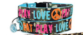 EAT PLAY LOVE HALSBAND CAMOUFLAGE