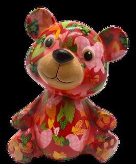 """Bär """"Toto"""" rot mit Herzen      - NEUHEIT -"""