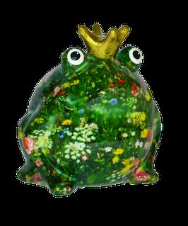 """Frosch """"Wiesenserie"""" mit bunter Blumenwiese"""