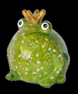"""Frosch """"Basicline"""" grün Blumenwiese"""
