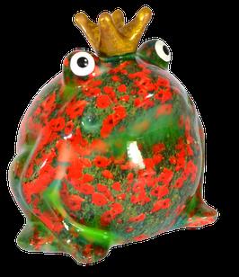 """Frosch """"Wiesenserie"""" mit Mohnblumen"""