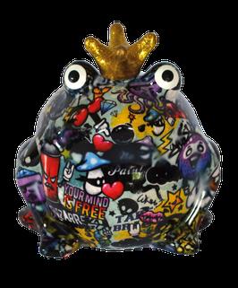 """Frosch """"Graffiti"""" Design III (hellblau)"""