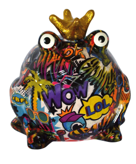 "Frosch ""Graffiti"" Design II (lila)"