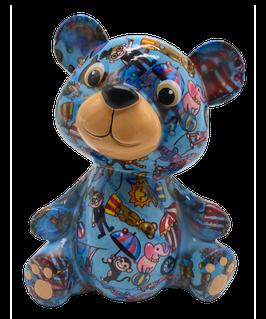"Bär ""Toto""  blau Zirkus      - NEUHEIT -"