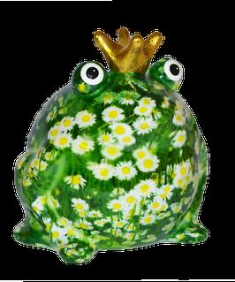 """Frosch """"Wiesenserie"""" mit Gänseblümchen"""