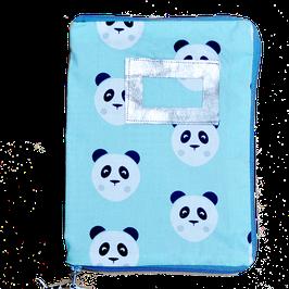 Housse de Carnet de santé panda